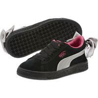 PUMA Suede Bow AC Little Kids' Shoes Girls Shoe Kids