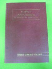 book libro TUTTI I DOCUMENTI DEL CONCILIO E POST EDIZIONI DOMENICANE 1967 (L18)