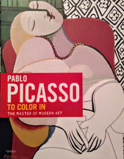 (NEW) Pablo PICASSO: To Color in: The Master of Modern Art - Adult Coloring Book