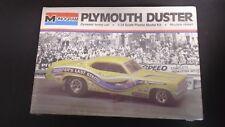 MONOGRAM PLYMOUTH DUSTER 426 HEMI FUNNY CAR ©1975 PLASTIC MODEL CAR KIT SEALED