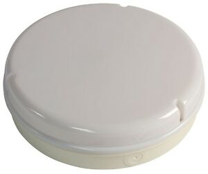 LED 12W OUTDOOR INDOOR ROUND BULKHEAD WALL CEILING LIGHT WHITE IP65 WATERPROOF