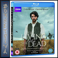 THE LIVING AND THE DEAD -  Colin Morgan , Charlotte Spencer *BRAND NEW BLURAY**
