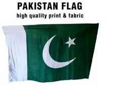 Pakistan Flag 2.75 x 1.95 FT  100% Polyester - Commonwealth Country