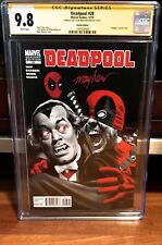 Deadpool #28 Vampire Variant 1:15 CGC 9.8 SIGNED & SKETCH BY Mike Mayhew NM X