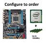 LGA 2011 Intel Motherboard COMBO X79 H61 Xeon E5-2650 v2 E5-1680 v2 DDR3 1866Mhz