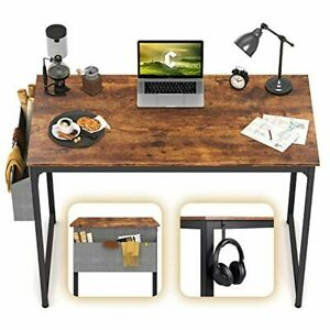 """CubiCubi Computer Desk 32"""" Study Writing Table for Home Office and Kids"""