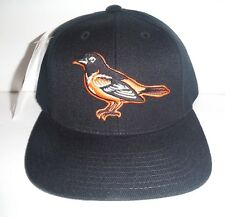 a5790461b Baltimore Orioles NEW Vintage Snapback Lower Crown Hat NWT Logo Athletic  Black