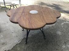 Tavolo da interno / esterno in pietra naturale fatto a mano -  mod. MARGHERITA