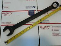 """Vtg Snap On Tools GOEX48B 1-1/2"""" Combination Box Open End Wrench 20"""" Long USA"""