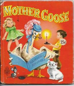 Mother Goose by Lucille Wallace.  Tell A Tale Book (1958)
