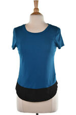 Express Women Tops Blouses XS Teal Polyester