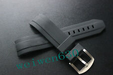 22mm rubber Watch Strap silicone Band for Porsche Design racing series P6612