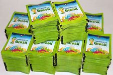 Panini Sticker WC WM BRASIL 2014 14 – 1000 TÜTEN PACKETS BUSTINE SOBRES, MINT!