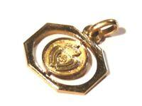 Bijou plaqué or 18 carats pendentif  cœur vendéen pendant