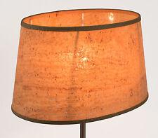 Lampenschirm aus Kork Naturmaterial Oval  E27 E14 Naturkork Tischlampe Elegant