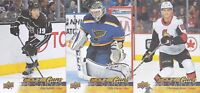 17-18 Upper Deck Ville Husso UD Canvas Young Guns Rookie Blues 2017