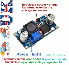 LM2596S DC-DC Buck Converter Adjustable Power Supply Step Down Module 5V 12V 24V