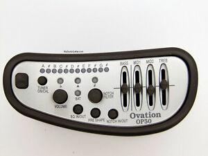 Ovation Adamas Guitar OP50 Preamp kit
