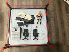 WWE Elite Collection Raw Main Event Ring Playset - DXG60 (And Other Accessories)