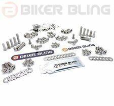 Yamaha YZF600R Thundercat 1998 stainless steel screen motorcycle fairing bolts