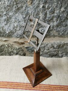 A Victorian Oak Book Stand Menu Stand