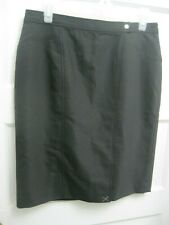 Ann Taylor Black Skirt Size 8 Petite New with Tags