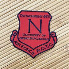 University of Nebraska Lincoln DET 465 Air Force ROTC Award Patch Badge
