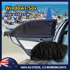 pair Car Window Sox Socks Sun Shield Shade Fit Holden Colorado Commodore Cruze