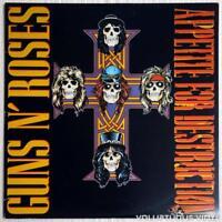 GUNS N ROSES Appetite For Destruction Vinyl LP (12 Tracks) NEW & SEALED
