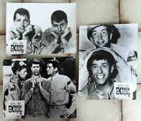 3 Original Aushangfotos Krach mit der Kompanie  Jerry Lewis Dean Martin s/w