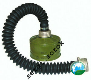 Nbc Russian Gas Mask Hose Tube Conector 40mm with filter GP-5/GP-7/GP-7VM new