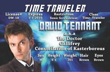 David TEnnant - TIME TRAVELER from Dr Who DOCTOR WHO Time and Relative Dimension
