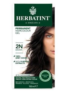2N Brown Hair Colour 150ml (Herbatint)