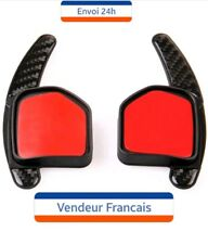Extension carbon palettes palette volant AUDI A1 A3 A4 A5 A6 A8 Q3 Q5 Q7 TT RS S