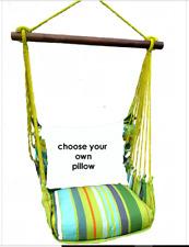 MAGNOLIA CASUAL HAMMOCK SWING SET - CITRUS Choose Your Pillow