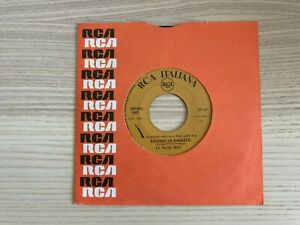 """Le Pecore Nere _ Ricordo un Ragazzo _ Vinile 45giri 7"""" JukeBox _ 1967 Italy"""