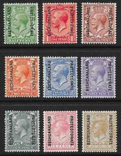 Bechuanaland 1913-24 Set to 1/- (Mint)