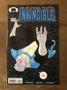Invincible 5 2003 1st Print Kirkman NM? High Grade Amazon Prime Allen The Alien!