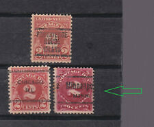 US 1930/1 three pre-cancel p.due stamps          9