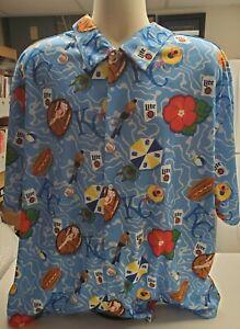 KC Royals Hawaiian Tropical Shirt Size XL, SGA 7/23/2021, New, Never Opened MINT