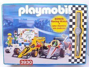 Playmobil Race Car set 3930 New open box