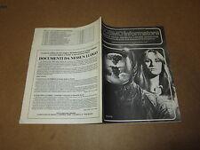 COSMO INFORMATORE FANZINE E CRITICA SUL MONDO DELLA FANTASCIENZA APRILE 1986