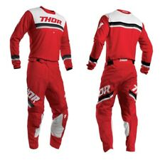 Thor MX Pulse Pinner MX Motocross Jersey/Pant Bundle - Red