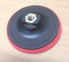 "4"" 100mm Plastic Backing Backer Pad Wheel M10x1.5 Hex Hole Angle Grinder Sanding"