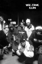 WU-TANG CLAN GROUP PHOTO POSTER NEW  !
