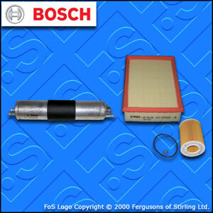 SERVICE KIT for BMW 3 SERIES (E46) 330I BOSCH OIL AIR FUEL FILTERS (2000-2007)