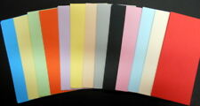 100 Papers 14.5cm x 6.5cm ~13 colours ~ great for SCRAPBOOKING/CARDMAKING