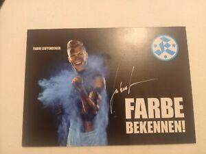 Signierte AK Fabio Leutenecker Stuttgarter Kickers NEU
