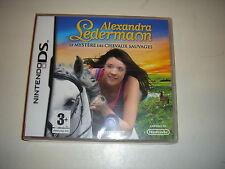 ALEXANDRA LEDERMANN  mystere chevaux  JEU DS /  DS  LITE  /  DSI  /  2 DS