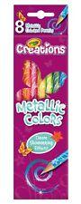 Crayola Creations - 8 Metallic Pencils
